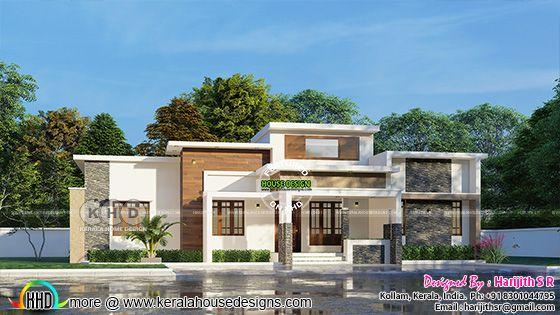 Single floor contemporary home view 2