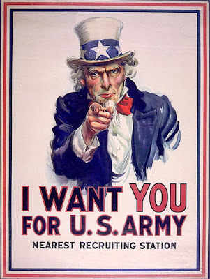 Uncle Sam Poster I want you