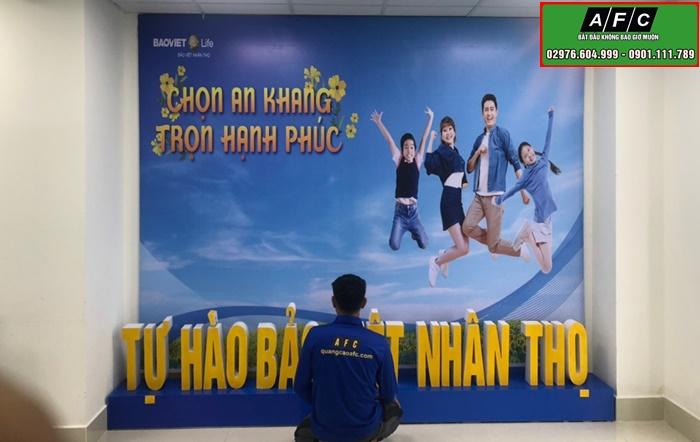 Thi công biển quảng cáo Bảo Việt Nhân Thọ Chi nhánh Phú Quốc