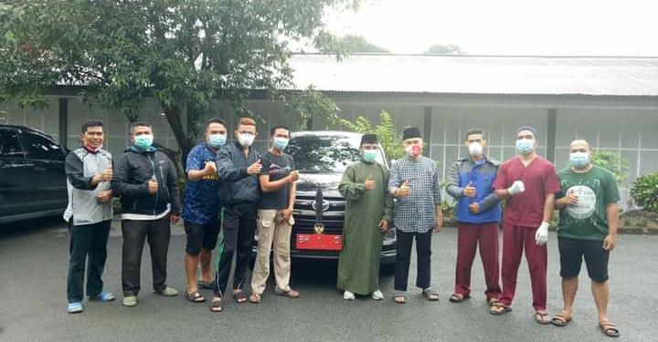 Bupati Adirozal Kunjungi Tempat Isolasi Covid-19 dan Berikan Motivasi Serta Dengarkan Keluhan Petugas