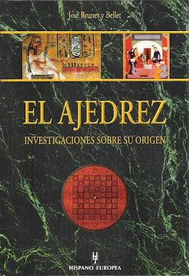 Portada del libro de Josep Brunet i Bellet sobre el origen del ajedrez