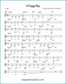 chord a foggy day lagu jazz standar