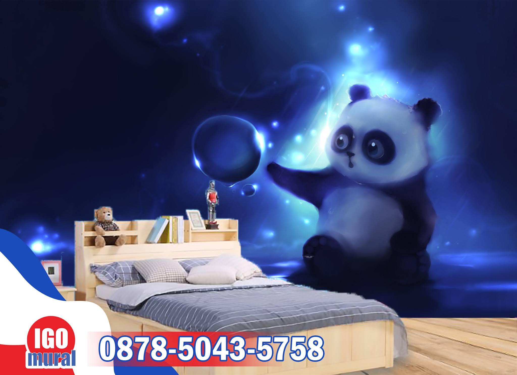 Wallapaper dinding Panda