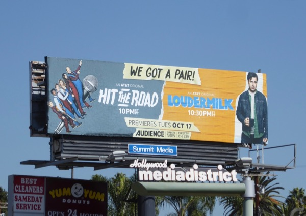 Hit the Road Loudermilk billboard