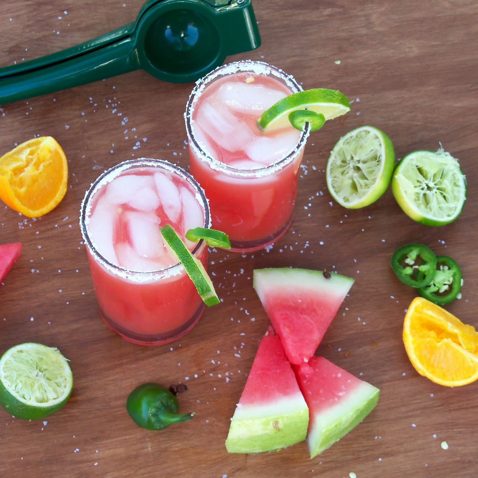 The Style Dossier: Spicy Jalapeno Watermelon Margarita