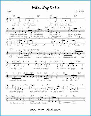 willow weep for me lagu jazz standar