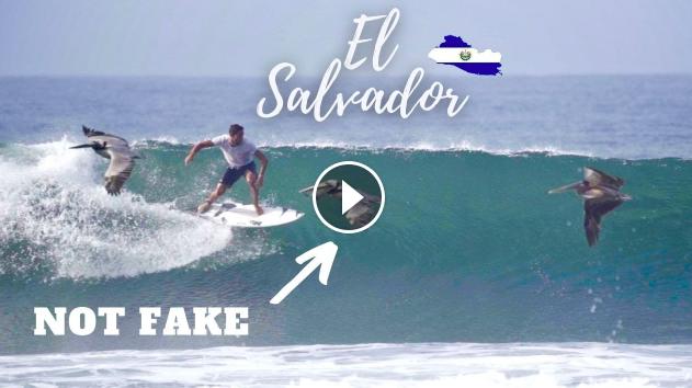 SURFING SICK WAVES IN EL SALVADOR LATINE AMERICA