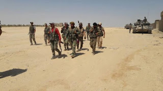 Angkatan Udara Rezim Syiah Suriah Latih Pasukan Khalifa Haftar di Damaskus