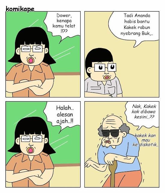 7 Komik Strip 'Kehidupan Guru' yang Lucu Abis, Murid Bandel Wajib Liat!