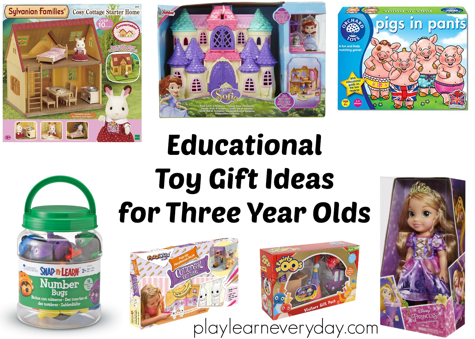 Educational Toy Gift Ideas For 3 Year Olds Play And