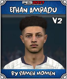 PES 2017 Faces Ethan Ampadu by Sameh Momen