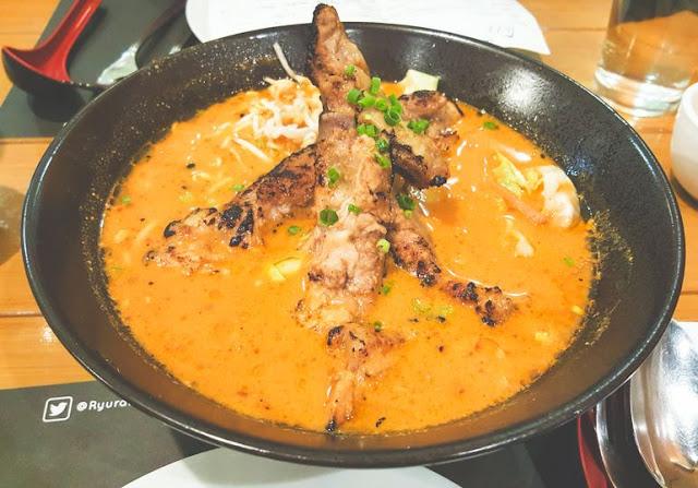 Ryu Ramen and Curry: A Homegrown Japanese Restaurant