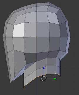 Extruding from neck again.