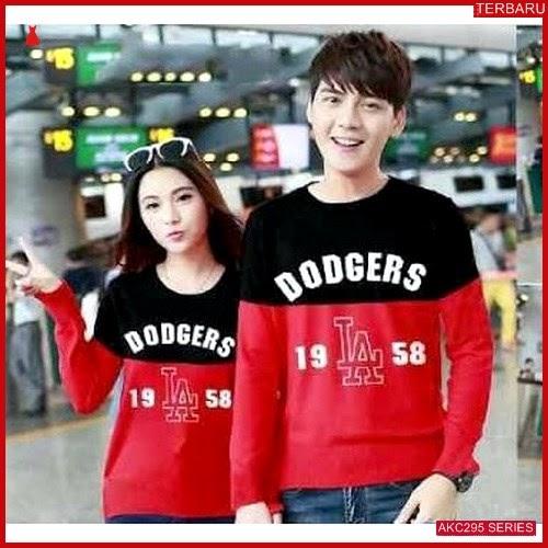 AKC295S42 Sweater Couple Dodgers Anak 295S42 Pasangan LA BMGShop