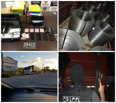 Polícia Civil da Paraíba prende suspeitos de desviar cargas no Nordeste; valores passam de R$ 200 mil