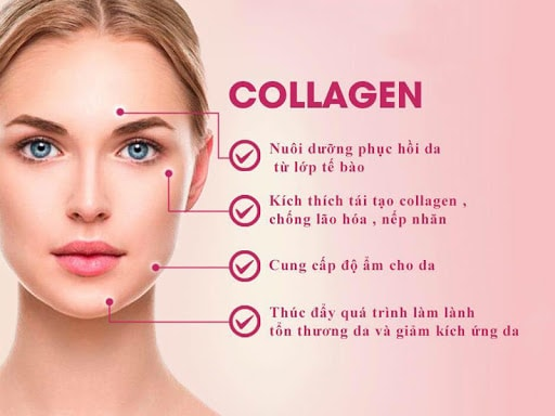 Những biện pháp tăng cường collagen trong cơ thể.