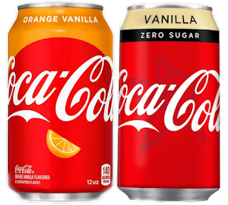 Coca Cola Orange Vanilla Zero Suger