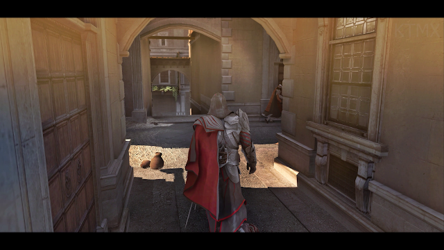 Assassin's Creed Brotherhood Ray Tracing RTGI Retextured Remastered Graphics Mod 2021 | Gameplay 4K