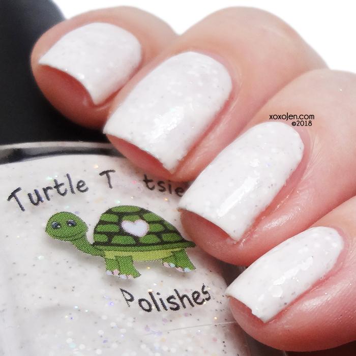xoxoJen's swatch of Turtle Tootsie Snowstorm