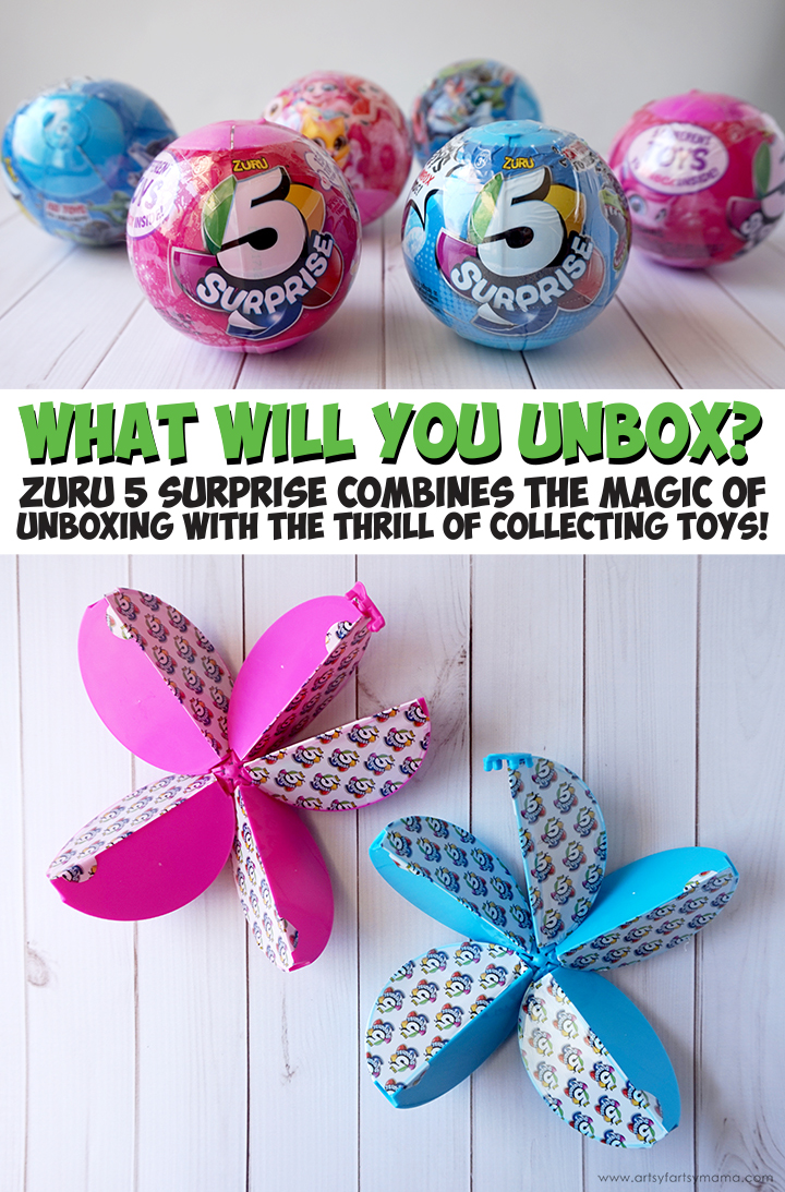 What will you unbox? 5 Surprise combines the magic of unboxing with the thrill of collecting toys! #5Surprise