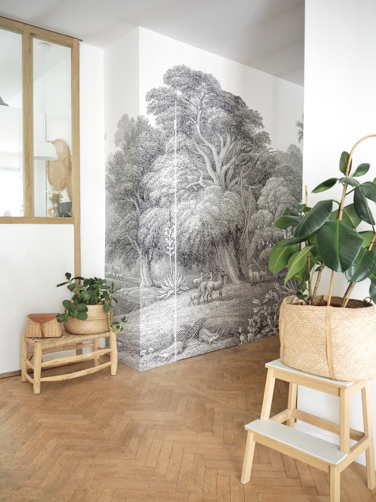 Panoramic Wallpaper For Our Hallway With Rebel Walls Slow Design
