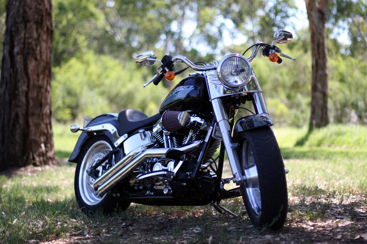 Harley Davidson Latest FATBOY Model
