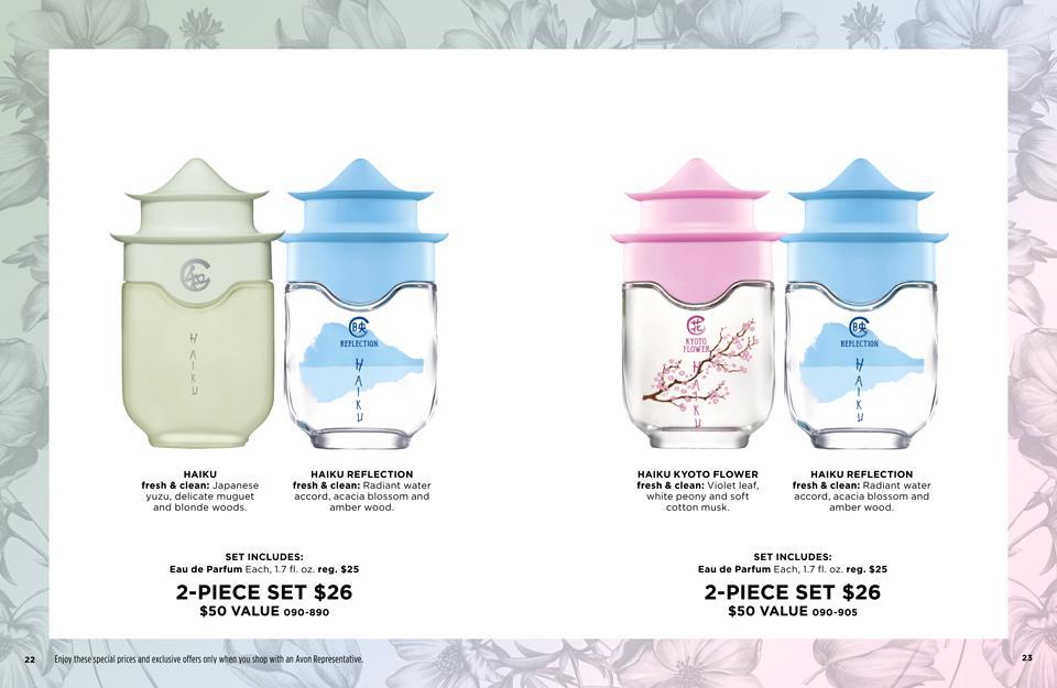 Avon Fragrance Bundle Sets - Great Value
