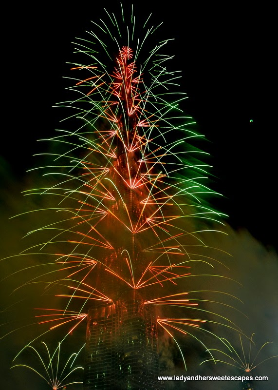 Dubai New Year fireworks 5