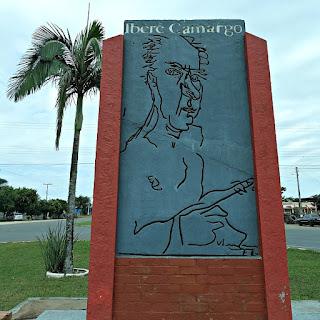 Monumento a Iberê Camargo, Restinga Seca (RS)
