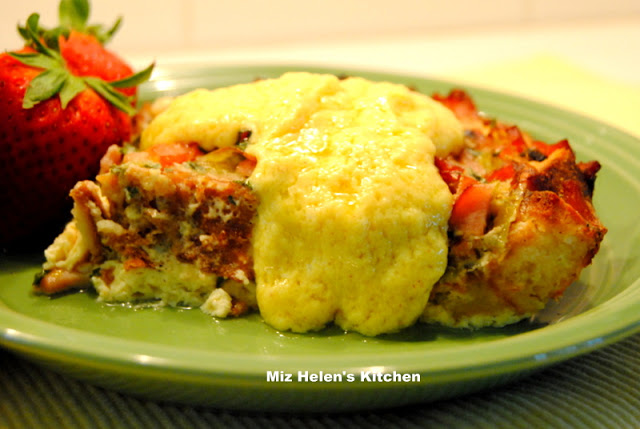 Egg Benedict Casserole at Miz Helen's Country Cottage