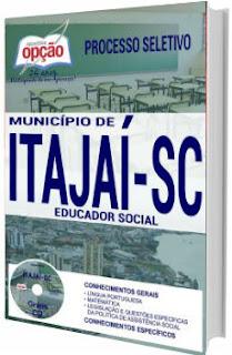 Apostila Prefeitura de Itajaí 2017 - Educador Social