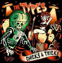 "The TYPES ""Garage / Big Beat"" • CHIKS & TRICKS LP desing • Moscow Russian Federation"