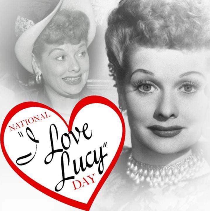 National I Love Lucy Day Wishes for Whatsapp