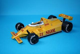 Fittipaldi F7 Ford - Keke Rosberg - GP Argentina 1980 by ModelyF1