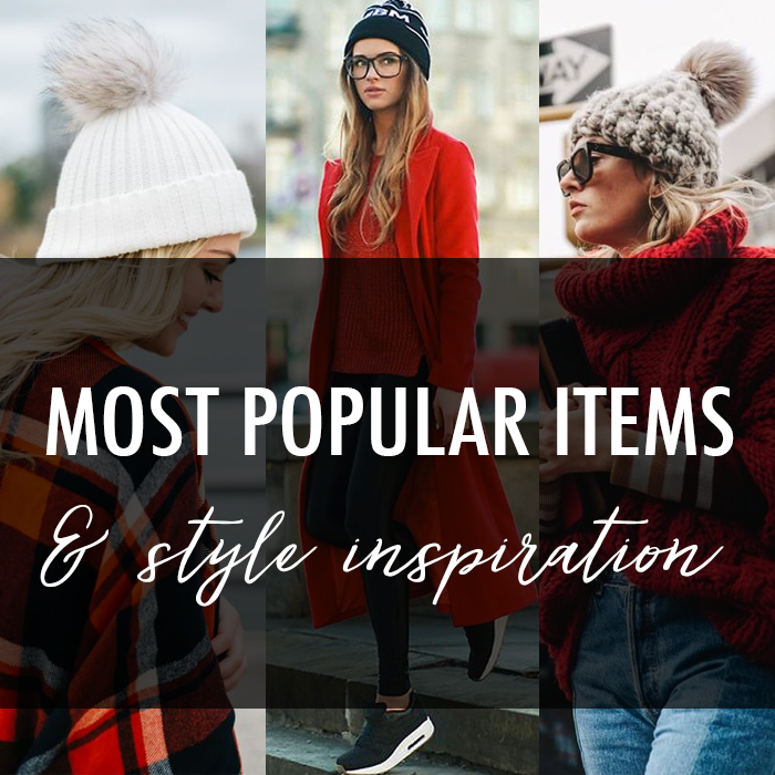 most popular items to buy