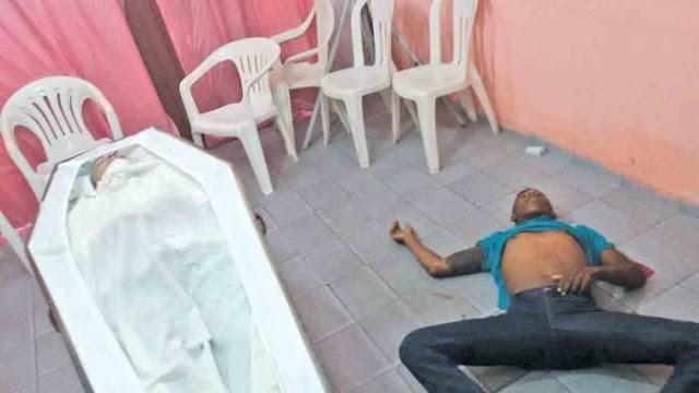 THE: Adolescente é morto no velório do amigo