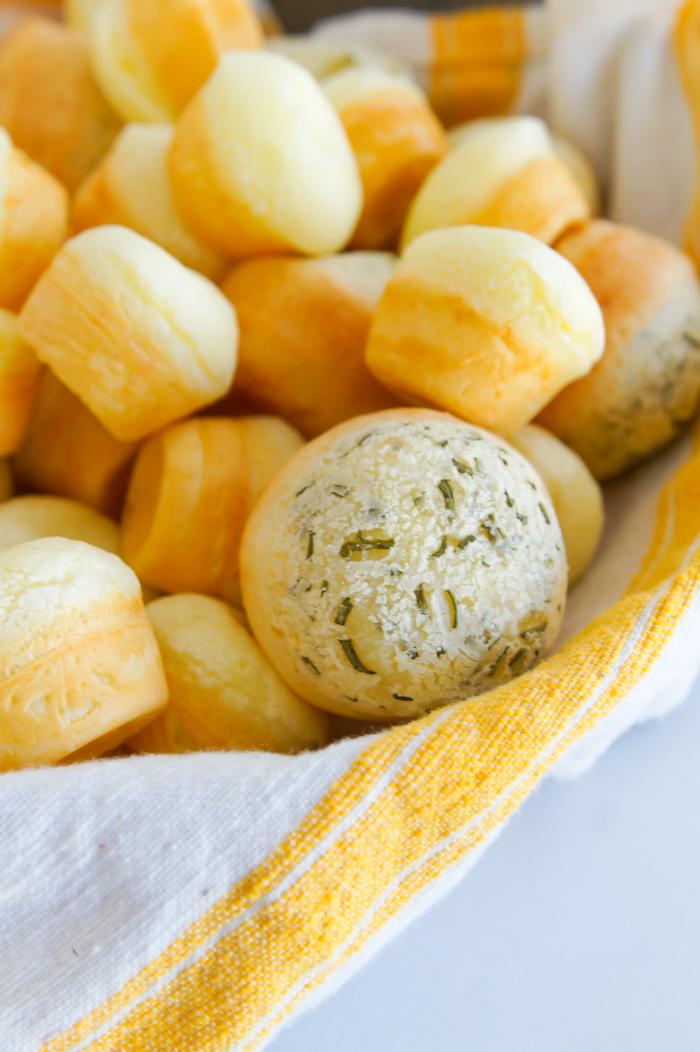 Brazilian Cheese Bread :: bakeat350.net for The Pioneer Woman Food & Friends