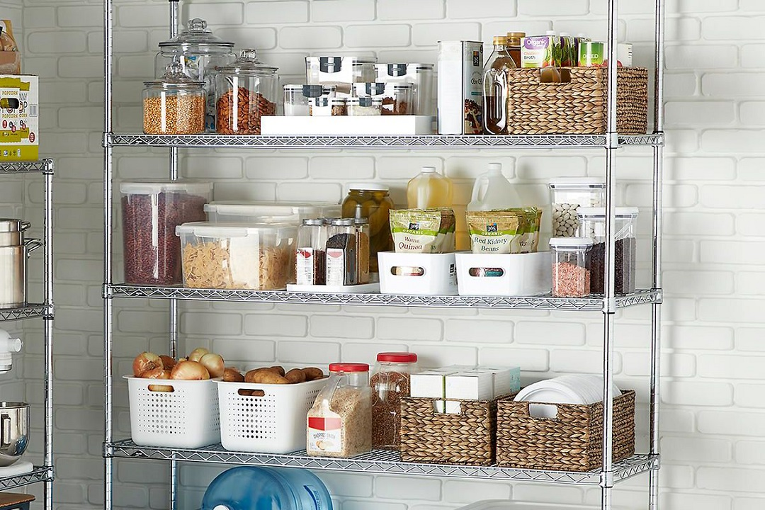 Cara susun atur barang di dapur