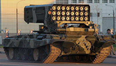 TOS-1 Russian Military