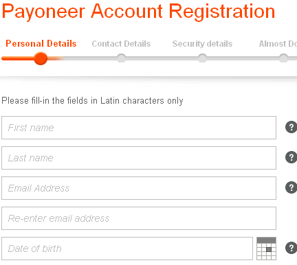 Payoneer Sign Up | How to Create a U.S Bank Account