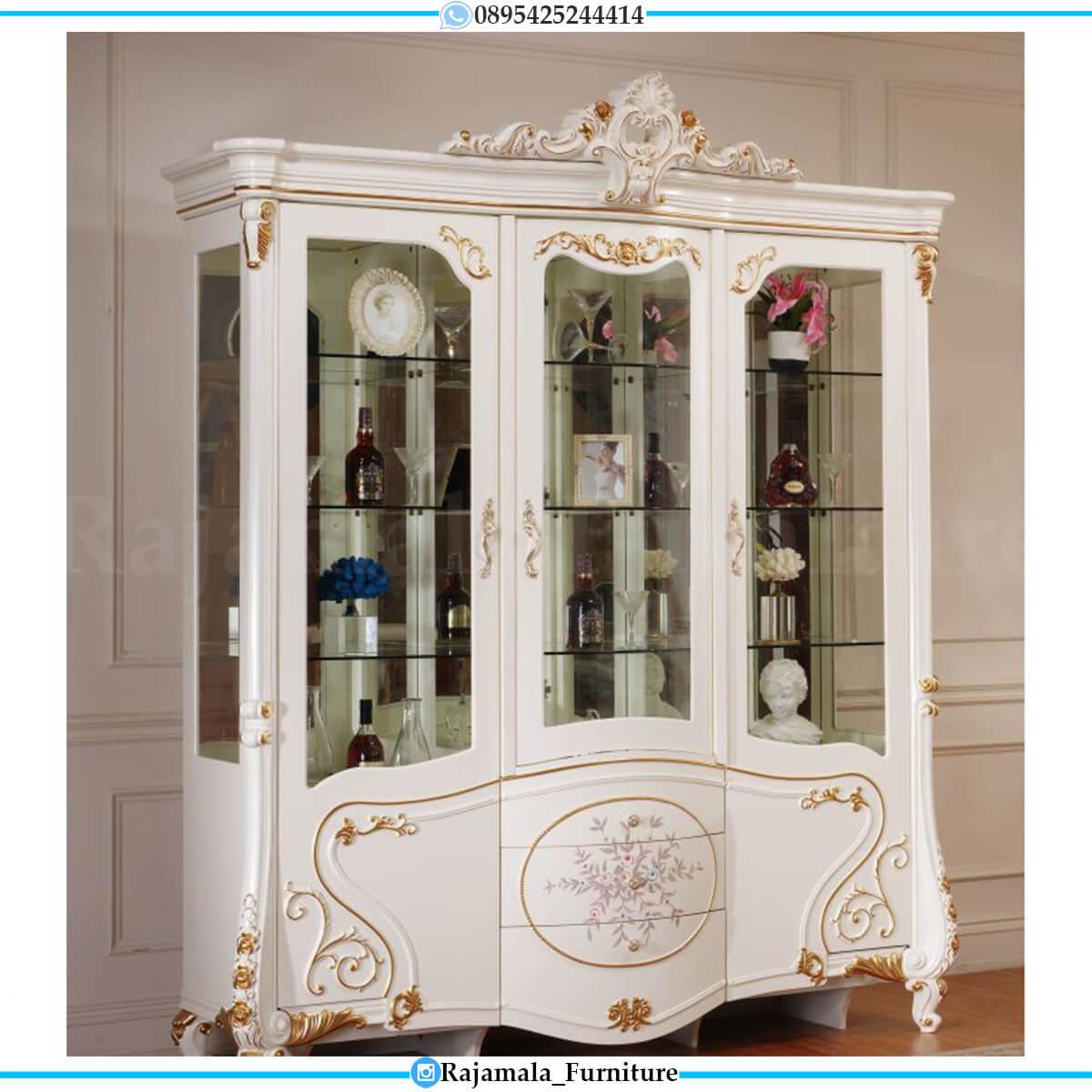 Harga Lemari Hias Mewah Jepara Luxury Furniture Classic RM-0681