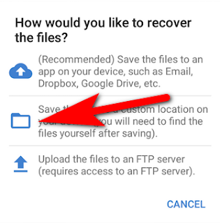 how to recover deleted photos from android gallery 2019
