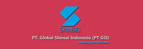 Lowongan Kerja PT. GSI ( Global Shinsei Indonesia ) EJIP