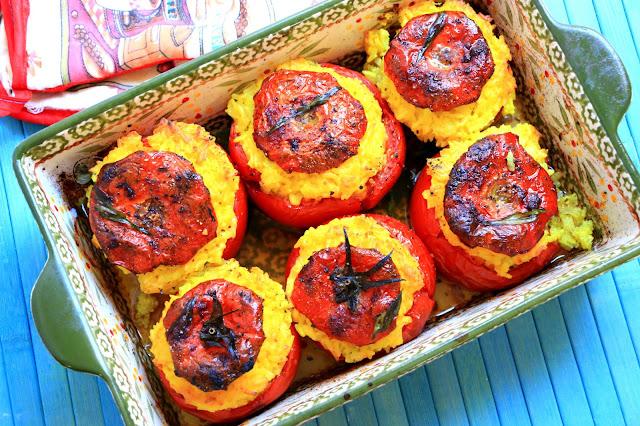 Recept-za-punjeni-paradajz-pečen-u-rerni