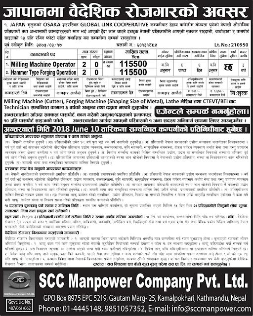 SCC Manpower Company  Pvt. Ltd. jagiredai