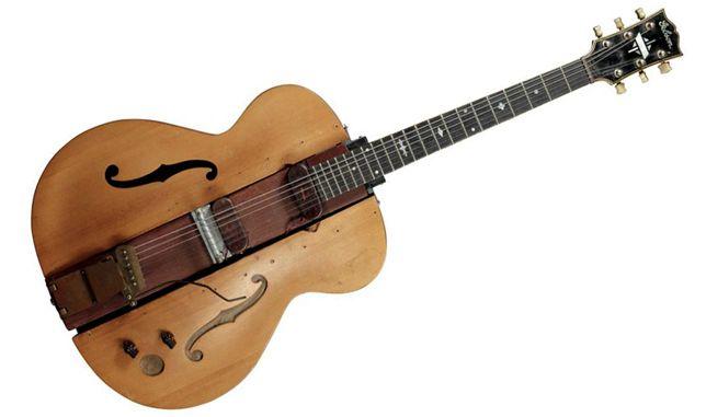 The Log Prototipo Diseñado por Les Paul