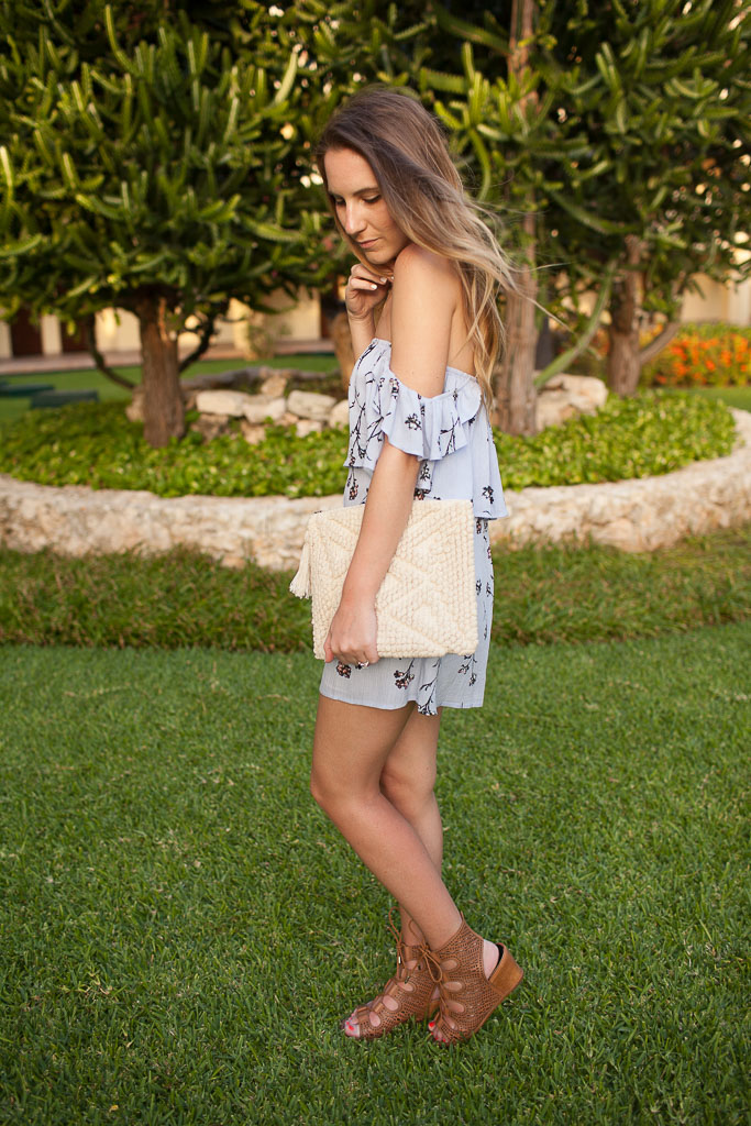 The Perfect Floral Playsuit for Spring!