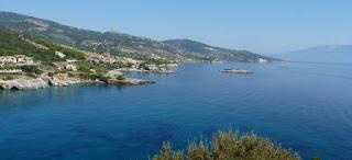 Isla de Zante, playa de Makris Gialos.