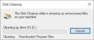 Tunggu proses delete hingga selesai.