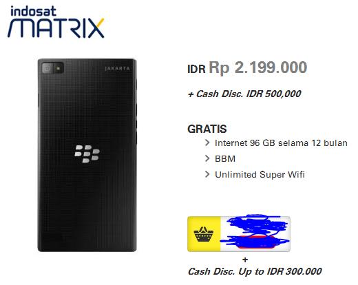 Harga Handphone BlackBerry Z3 Jakarta Terbaru